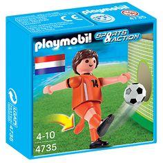 Playmobil Sports & Action: Voetbalspeler Nederland (4735)