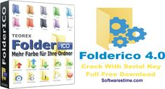 Folderico 4.0 Crack With Serial Key Full Free Download is awesome symbol changing device which happens when you exhausted with your more....................