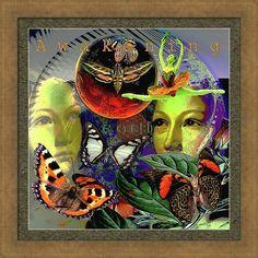 Eye Solar Framed Print featuring the digital art Earth Energy Meridan by Joseph Mosley