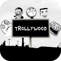 Trollywood - https://itunes.apple.com/us/app/trollywood/id524728363?mt=8  ★ Trollywood is the best trolling app for iPhone!  ☆ Troll your friends!   You just need to take a picture by using your camera or choose it from your gallery, replace the face of your friends with Rage faces and add different hilarious comments.   Share the result through email, Facebook, Twitter or MMS.   ☆ Make your funny rage comics.   Tease your friends and make them smile.