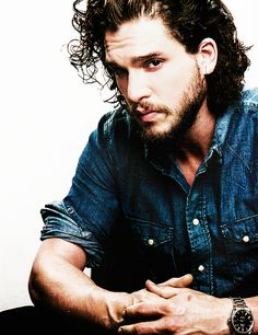 Kit Harington by Francois Berthier for Plugged Magazine