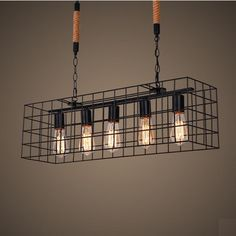 328.88$  Watch now - http://aligy0.worldwells.pw/go.php?t=32518848826 - American Loft Style Hemp Rope Droplight Edison Pendant Light Fixtures For Dining Room Hanging Lamp Vintage Industrial Lighting 328.88$