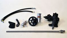 The crew at Mike Maier Inc has come up with a great Mustang MOD Power Steering Kit for your first generation Mustang. 67 Mustang, Mustang Parts, Control Valves, Geometry, Kit