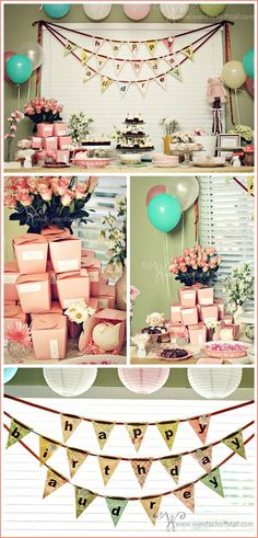 Little Piggy birthday party. My daughter would adore this theme!!!