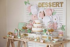 How To: Style a Dessert Table