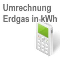 Foto Berechnungsprojekt Umrechnung Gas in kWh