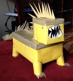 Really Cool Lizard Valentine's Day Box!