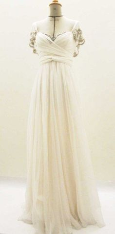 Boho wedding dress by Cecilie Melli