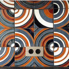 Handmade tiles by PLAKART ceramics. Фантастический по замыслу проект от @decorator_n . Очень ждём уже финальных фотографий by handmade_tile