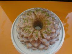 una chispa de dulzura: Bundt cake de lima y limón