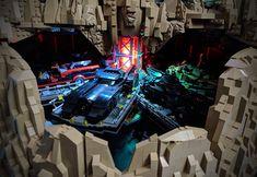 40 - Brent Waller Lego Dc, Lego Batman, Wayne Manor, Amazing Lego Creations, The Brethren, Batcave, Cool Lego, Lego Movie, Dc Heroes
