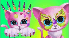 Fun Animals Care - Kiki & Fifi Pet Beauty Salon for Android Games HD Play pet beauty salon games and have fun! Create crazy hairstyles for pink kitty Kiki and Fashion And Beauty Tips, Little Puppies, Crazy Hair, Salons, Have Fun, Beauty Hacks, Ipad, Super Cute, Android