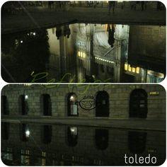 Juliogarciadelacruz. ...reflejos de la catedral  y del ayuntamiento  de toledo