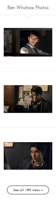 """Ben Whishaw Photos"" by my-heart-is-art ❤ liked on Polyvore featuring home, home decor, ben whishaw, guys, men, brown, tops, wall art, image picture and branch home decor"