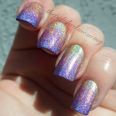 Springtime Rainbows.... Nail Art using Kismet, Miss Bliss, Eternal Beauty with a Base color of Cherubic