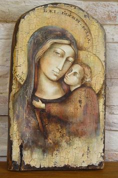 Mather of God irena kwasniewska - Religious Photos, Religious Icons, Religious Art, Images Of Mary, Biblical Art, Byzantine Icons, Madonna And Child, Catholic Art, Arte Popular