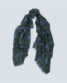Super Fine Tartan Cashmere Scarf Perfect for All Seasons
