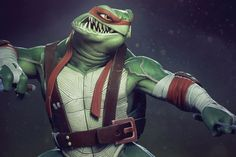 TMNT stylized - Raphael - Page 2