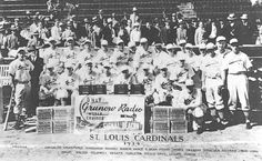 st. louis cardinals players | TheDeadballEra.com :: 1934 St. LOUIS CARDINALS TEAM PHOTO