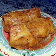 One Perfect Bite: Non-Chiladas? - My Recipe Rotation - Spinach and Black Bean Enchiladas