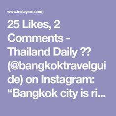 Thailand Travel Tips, Bangkok, City, Instagram, Cities