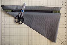 How to make a bike frame bag - bikepacking