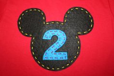 Mickey Mouse Clubhouse Birthday Party Shirt