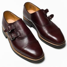 0fc2425fd26b Mark McNairy New Amsterdam Double Monk Strap Shoes - Por Homme -  Contemporary Men s Lifestyle Magazine