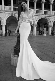 De la nota: Una colección de vestidos de novia que te dejará con la boca abierta  Leer mas: http://www.hispabodas.com/notas/2809-vestidos-de-novia-que-te-dejaran-con-la-boca-abierta