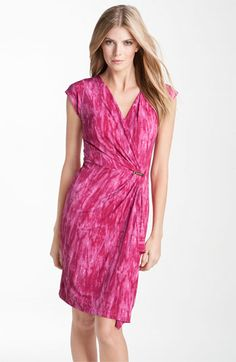 MICHAEL Michael Kors Faux Wrap Jersey Dress available at #Nordstrom