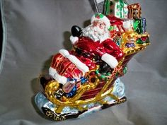 Christopher Radko Ornament on eBay  http://www.ebay.com/sch/agabe57/m.html