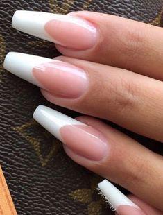 pink french manicure nails, Acrylic long nails, long nails design, natural long nails, elegant long nails, coffin nails acrylic, summer nails design #LongNails #Nail #SummerNails #Coffin #AcrylicNailsNatural Acrylic Nails Natural, French Manicure Acrylic Nails, Summer Acrylic Nails, Cute Acrylic Nails, Stiletto Nails, Nail Manicure, Gel Nails, Summer Nails, Purple Manicure