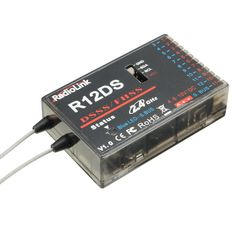 Radiolink R12DS 2.4G 12CH FHSS DSSS Spread Spectrum Dual Antenna Receiver