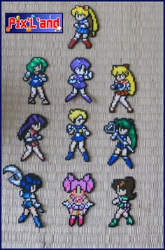 Sailor Moon hama perler beads by pix-l-and