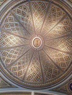 Uffizi gallery ceiling
