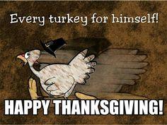 Turkey Day. Meme, RB.