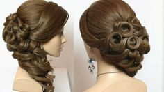 Wedding bridal hairstyles for long hair tutorial