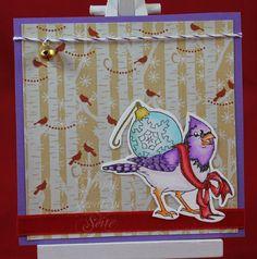 Tinas kreative Seite - Weihnachtssquare #3