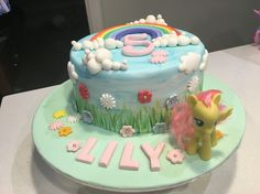 Lily's finished bday cake