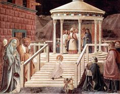 The Child Mary's Presentation in the Jerusalem Temple