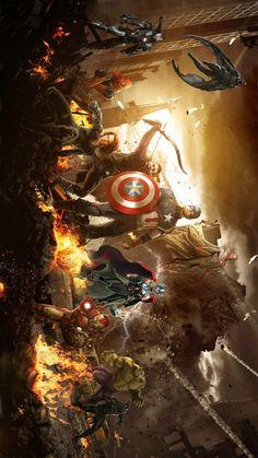 Avenger's The Avengers, Avengers Memes, Marvel Art, Marvel Heroes, Marvel Dc Comics, Avengers Wallpaper, Marvel Cinematic Universe, Marvel Universe, Avengers Infinity War