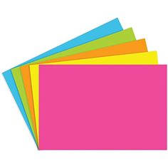 Top Notch Teacher Products TOP361 Blank Brite Assorted In...