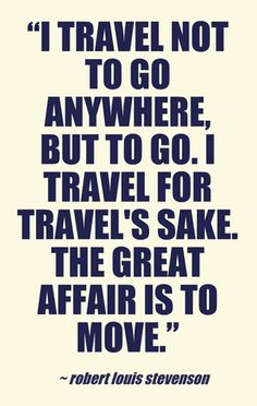 Great Travel Quotes