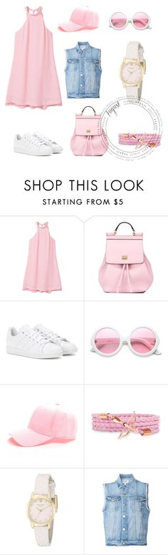"""August Set"" by asya-ramazanova on Polyvore featuring мода, MANGO, Dolce&Gabbana, adidas, ZeroUV, Kate Spade и Frame Denim"