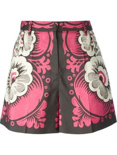 Shop Valentino printed shorts in Janes from the world's best independent boutiques at farfetch.com. Shop 300 boutiques at one address.