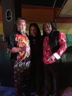 """International Reggae Artists Fred Locks, Paul """"The Chosen One"""" Elliott & Music Media Management @ Paul Elliott Album Launch - Kingston Jamaica June 2015 ... #medianet55"""