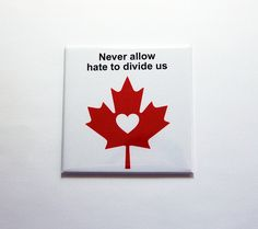 Shop for mug on Etsy, the place to express your creativity through the buying and selling of handmade and vintage goods. Canada Day, Magnets, Hate, Divider, Quebec, Creative, Pride, Handmade, Etsy