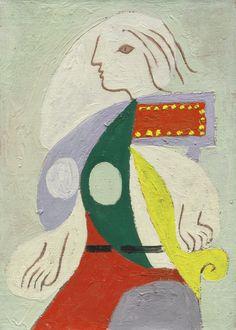 PABLO PICASSO 1881 - 1973 PORTRAIT DE MARIE-THÉRÈSE Oil on canvas 13 by 9 1/2 in. 33 by 24 cm Painted in 1932. Estimate 3,000,000 — 4,000,00...
