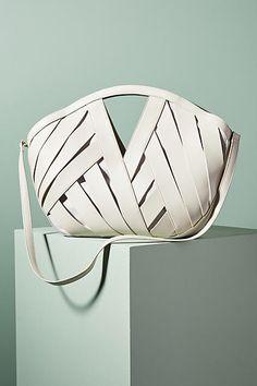 Anthropologie Woven Basket Bag