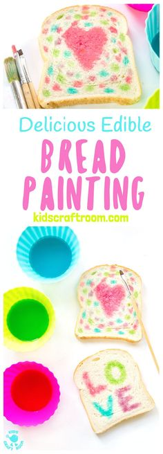 delicious edible bread painting